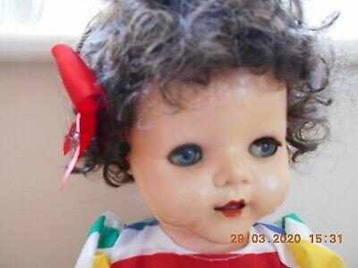 Vintage 1950S Pedigree Hard Plastic Walker Doll  FAB
