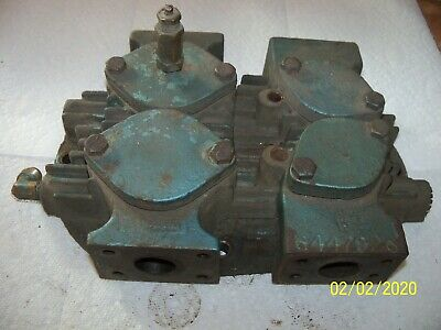 Kellogg American 452 Air Compressor Left Head Valves 6447926 7-1