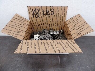 Steel Roller Chain Pieces Steampunk New Huge Lot 18 Lbs Free Ship 50 60