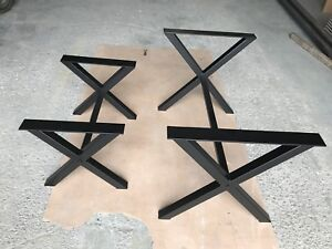 Heavy duty metal table legs for sale (powder coated )
