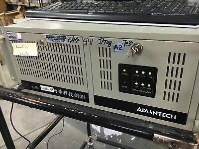 Nice2 Advantech 610h Industrial Computer Pentium Dual-core 2.6 Ghz 4gig Ddr2