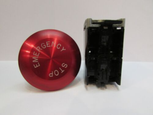 Cutler-Hammer, Red Jumbo 50mm Mushroom Head Emergency E-Stop, Assembly, PB3JPR