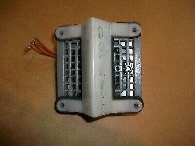 Federal Signal 350 Vibratone Horn W Vals Visalert Strobe  120v Used