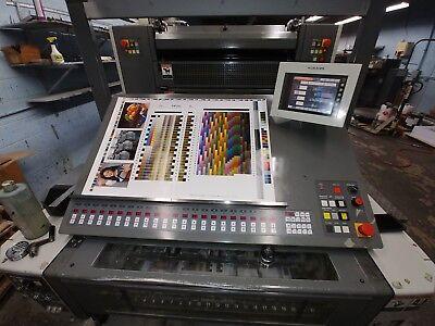 Komori Printing Press 429-p Spica 20x29 42mil. Imp. 2008 4c 22 Perfecting