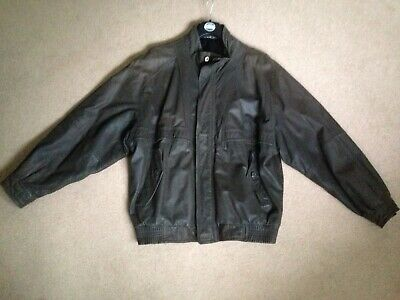 Vintage Leather Jacket Size M