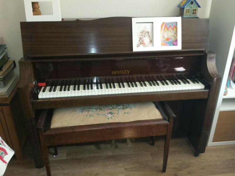 Bentley upright piano made in Wodchester