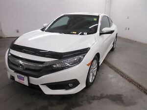 2017 Honda Civic Touring- NAV! LEATHER! ONLY 10K