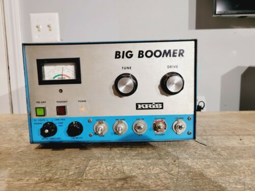 Kris Big Boomer Tube HF Linear Amplifier Amp Power C MY OTHER HAM CB RADIO GEAR