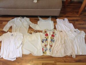 SELLING • 8 Blouses and Work Tops
