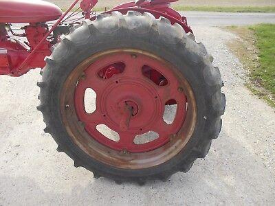 Firestone 11.2 X36 Field Road Tractor Tires 95 Tread Farmall Ih Sc C 200 Rims