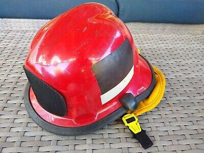 Firefighter Helmet - 360s - Cairns Helmet C-mod Red