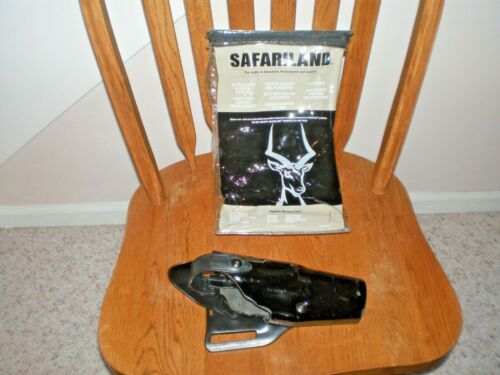 SAFARILAND Holster 6360-683. To fit Glock 34.  Shiny Material. Free Shipping.