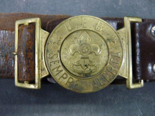 BSA Boy Scout Belt Brazil