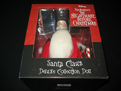 "Diamond Select Nightmare Before Christmas SANTA 12"" Deluxe Collection Doll"