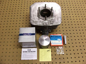 Polaris 250 Cylinder With Piston & Rings Kit Engine Trailblazer Trailboss 250R