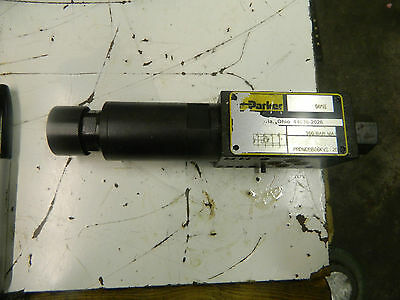 Parker Pressure Reducing Manapak Subplate Sandwich Module Prdm2aa21kvs Used