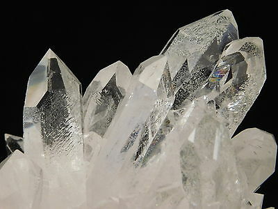 Fifteen NICE Points! A Big Translucent AAA QUARTZ Crystal Cluster Brazil 375gr