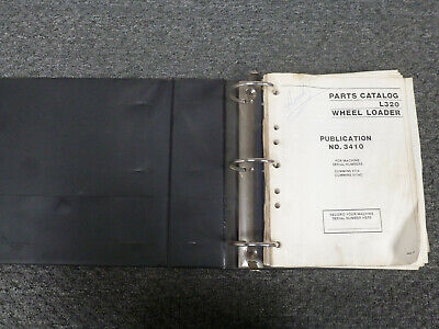 Clark Michigan L320 Wheel Loader Parts Catalog Manual Sn 811a