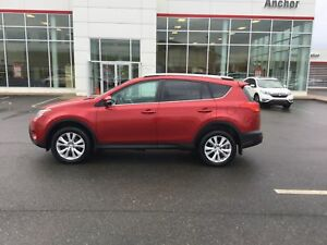 2014 Toyota RAV4 Limited AWD; P/SEAT; LEATHER; P/ROOF; NAVI;
