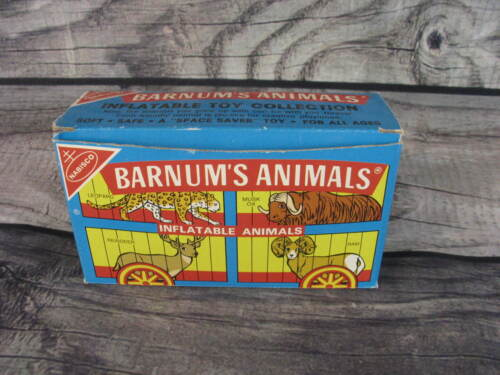 Nabisco Animal Cookie Barnum Circus Collectible Box Inflatable Gorilla