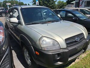 Hyundai Tucson GL 2005 gris