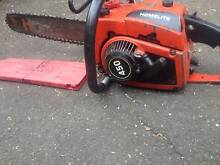 24' HOMELITE CHAIN SAW,IN GOOD PHYSICAL CONDITION,,IT IS SOME TIM Waitara Hornsby Area Preview