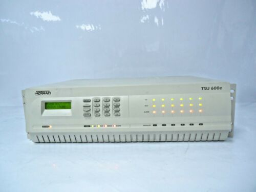 Adtran TSU 600e Multiplexer Channel Bank 1202076L1 GREAT DEAL!!!