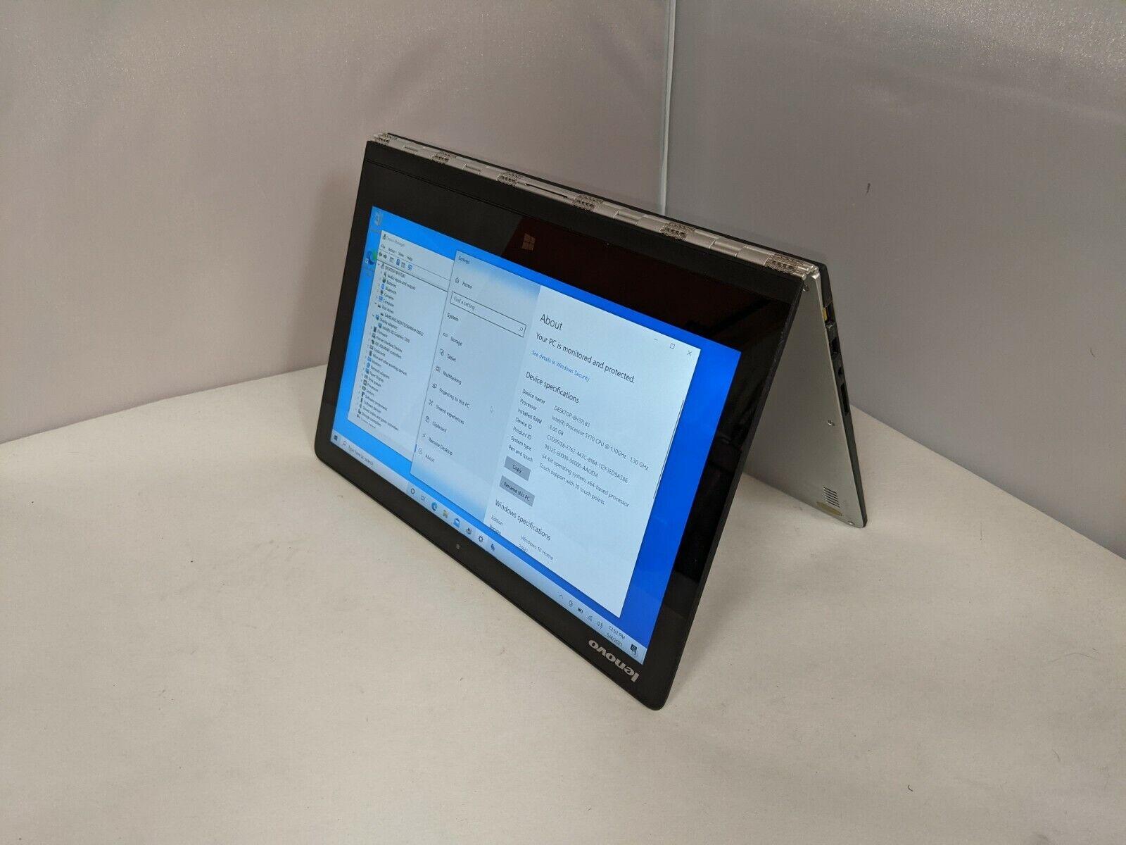 Lenovo Yoga 3 Pro-1370 13.3 QHD 2-in-1 Touch Intel M 5Y70 1.1GHz 8GB 256GB M.2 - $289.00