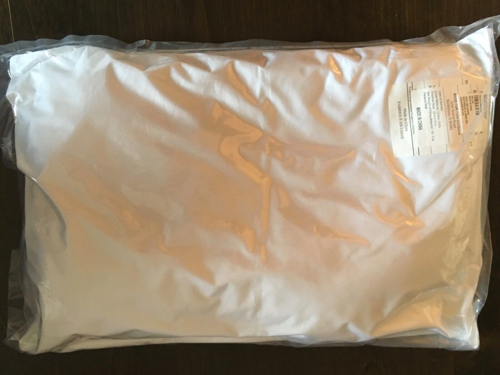 "New CRATE & BARREL Pillow Insert DOWN ALTERNATIVE 12"" x 18"""