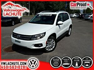 2016 Volkswagen Tiguan HIGHLINE + TOIT + CUIR + MAGS 18PO. + 1 P