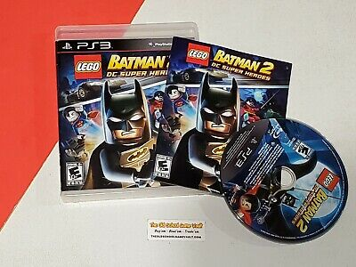 Lego Batman 2 DC Super Heroes [Smk] - Complete PlayStation 3 PS3 Game