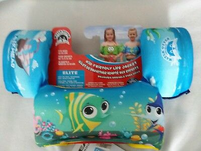 Kids Life Jacket Airhead Water Otter Treasure Island Elite 3
