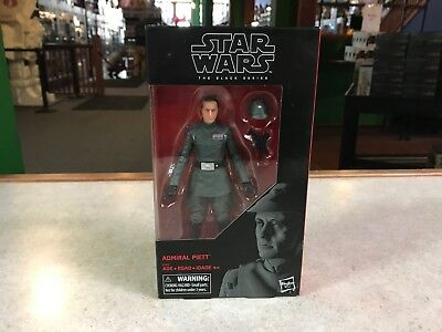 "DAMAGED BOX Star Wars Black Series 6"" Figure MOC Imperial ADMIRAL PIETT"