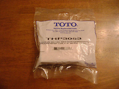 TOTO Lithium Metal Battery THP3053 Faucets, Flush Valves