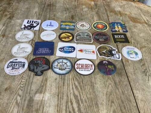 Lot Of 23 New Craft Brewery Brew Pub, Restaurant coasters