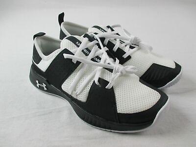 Under Armour Showstopper 2.0 Running, Cross Training Men's Black/White New 9.5