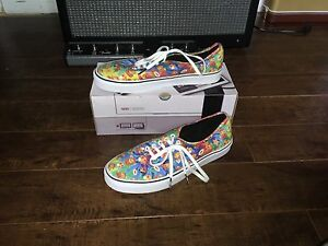 Nintendo Vans - Super Mario Bros (Size 12 Men) (Rarely Worn)