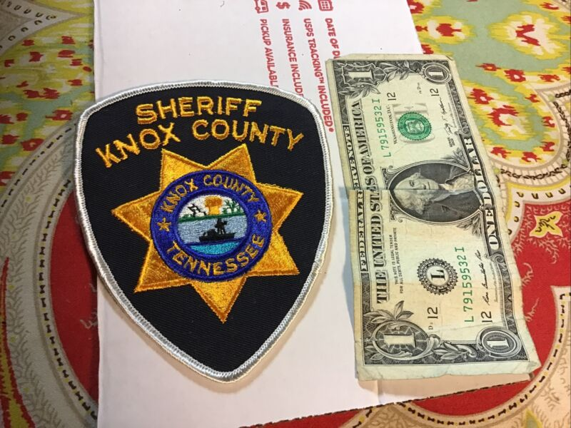 Knox County Sheriff Tennessee Patch New Old Stock