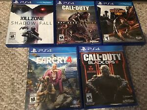 Advanced warfare and killzone for the ps4