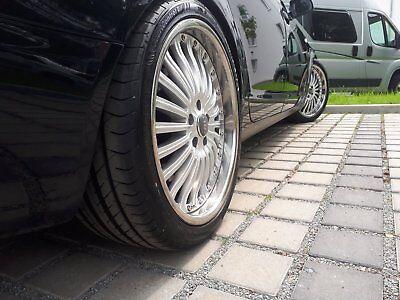 4 Alufelgen 20 Zoll 8,5x20 5x112 ET35 neue Sommerreifen 255/35 R20 Audi Felgen