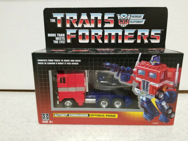 Transformers Optimus Prime G1 Walmart Exclusive Autobots Reissue SEALED New 🔥