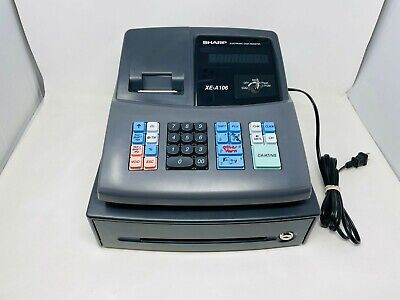 See Notesas Is Sharp Xe-a106 Cash Register