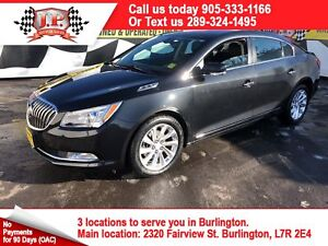 2015 Buick LaCrosse Automatic, Leather, Back Up Camera
