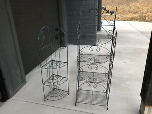Iron shelving