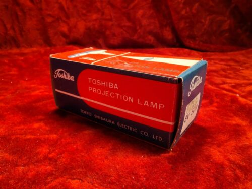Toshiba 8V 50W CXL/CXR Projection Lamp Bulb [NOS]