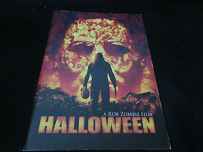 A Rob Zombie Film Halloween Japan Film Program Book White Zombie Tyler Mane