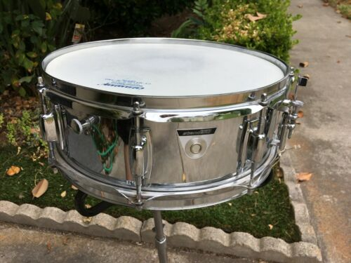 "VINTAGE 1974 LUDWIG STANDARD 5X14"" CHROME SNARE DRUM. COLLECTORS 100% ORIGINAL,"