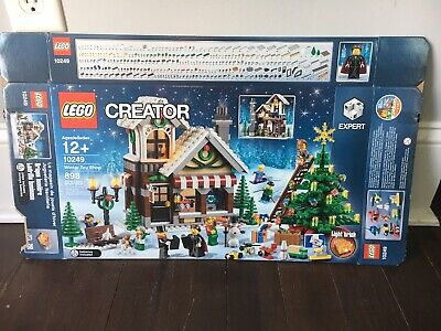 Lego Empty BOX ONLY Set 10249 Winter Toy Shop Creator Christmas