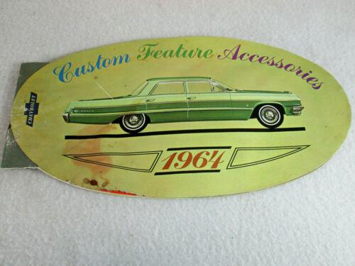 Vintage 1964 Chevrolet dealer Custom Accessories Feature catalog