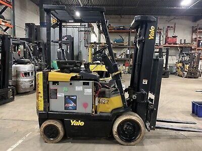 Budget2004 Yale 5000 Pound Forklift-we Will Ship-lifts 15 Feet-sideshift-lk